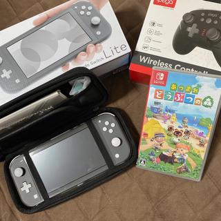 ニンテンドースイッチ(Nintendo Switch)の任天堂 Switch Light あつ森 あつまれどうぶつの森(家庭用ゲーム機本体)
