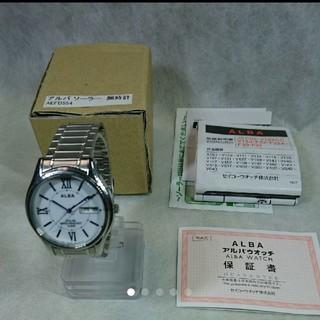 アルバ(ALBA)のセイコーアルバソーラー腕時計(腕時計(アナログ))