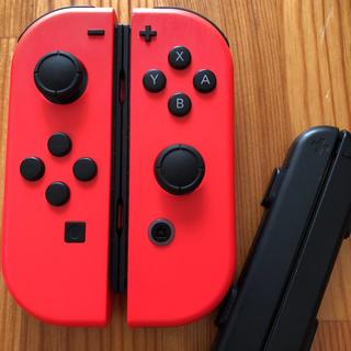 ニンテンドースイッチ(Nintendo Switch)のSwitch ジョイコン ネオンレッド×ネオンレッド(家庭用ゲーム機本体)