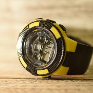 日本語説明付き☆新品送料込み NT 防水キッズ子供用アウトドア BOYS腕時計(腕時計)
