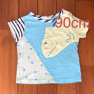 センスオブワンダー(sense of wonder)のbaby cheer ベイビーチアー カメレオン Tシャツ 90cm  (Tシャツ/カットソー)
