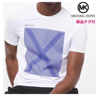Michael Kors - マイケルコース Tシャツ メンズ【新品タグ付】送料無料