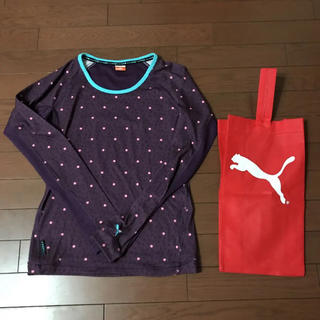 PUMA - プーマ 長袖Tシャツ ロンT