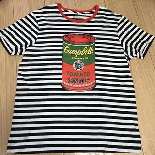 アンディウォーホル(Andy Warhol)の廃盤商品レア UNIQLO×アンディウォーホル コラボTシャツ Lサイズ(Tシャツ/カットソー(半袖/袖なし))