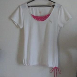 プーマ(PUMA)のPUMA フィットネスTシャツ(ヨガ)