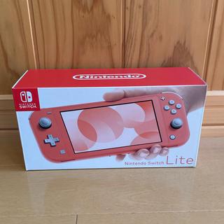 ニンテンドースイッチ(Nintendo Switch)のSwitch Lite コーラル(家庭用ゲーム機本体)