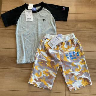 Champion - 新品タグ付き チャンピオン 120cm Tシャツ ハーフパンツ