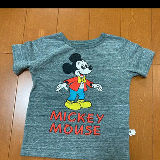 Disney - ミッキーTシャツ  100