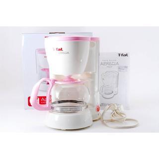T-fal - T-fal コーヒーメーカー アプレシア ペーパーレスフィルター シュガーピンク