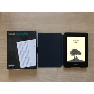 Kindle Paperwhite (第6世代) DP75SDI カバー付