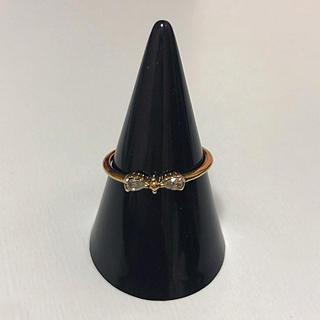 アクセサリーズブラッサム(Accessories Blossom)のリボン リング 11号(リング(指輪))