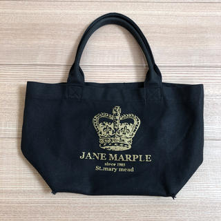 ジェーンマープル(JaneMarple)のジェーンマープル王冠プリントミニトートバッグ(トートバッグ)