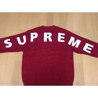 Supreme - 最終値下 supreme back logo sweater M シュプリーム