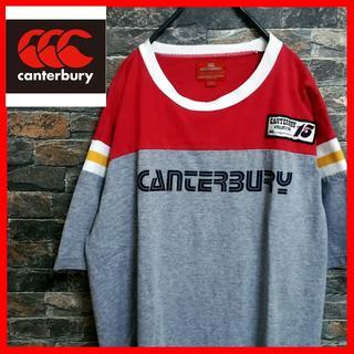 カンタベリー(CANTERBURY)の★『カンタベリー』『CANTERBURY』Tシャツ ラガーシャツ ラグビー(Tシャツ/カットソー(半袖/袖なし))