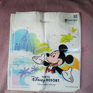 ディズニー(Disney)のディズニー ミッキー ミニー ショップ袋 Lサイズ(ショップ袋)