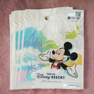 ディズニー(Disney)のディズニー ミッキーミニー ショップ袋 Sサイズ 20枚(ショップ袋)