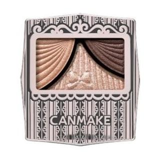 CANMAKE - キャンメイク アイシャドウ ジューシーグロウフルールチークス01