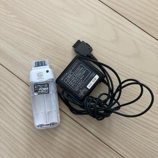 エヌティティドコモ(NTTdocomo)のドコモ FOMA 充電器(バッテリー/充電器)