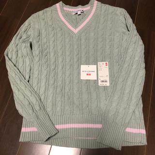 ユニクロ(UNIQLO)の今期 ユニクロ×イネス クリケットVネックセーター(ニット/セーター)