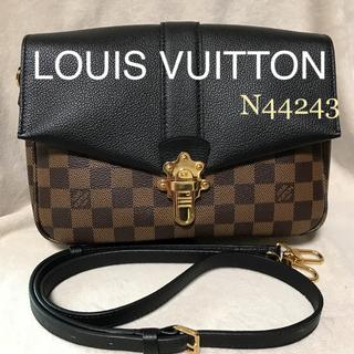 ルイヴィトン(LOUIS VUITTON)の極美品✱定24万✱ルイヴィトン✱ダミエ クラプトン 2way バッグ✱ノワール(ショルダーバッグ)