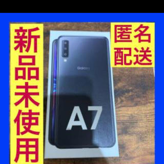 Galaxy - 【新品】GALAXY A7 新品未使用 迅速発送 SIMフリー