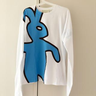 Marni バニー ウサギ 限定 ロングTシャツ 42 マルニ ロゴ アイコン