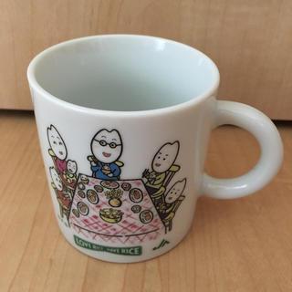 お米くん家族のマグカップ コップ 食器(食器)