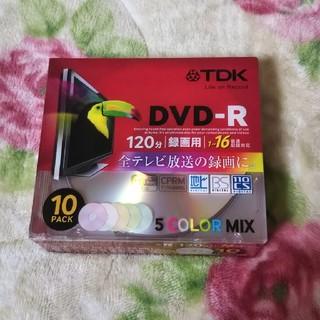 ティーディーケイ(TDK)の【新品】TDK DVD-R 10枚(その他)