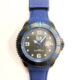 アイスウォッチ(ice watch)の【ice watch】【アイスウォッチ】ブラック ブルー(腕時計(アナログ))