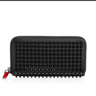 クリスチャンルブタン(Christian Louboutin)の黒 長財布(長財布)