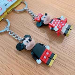 レゴ(Lego)のLEGO  ミッキーミニー キーホルダー(キャラクターグッズ)