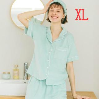 ジーユー(GU)の【XLサイズ】GU×サボン パイルパジャマ ミント(パジャマ)