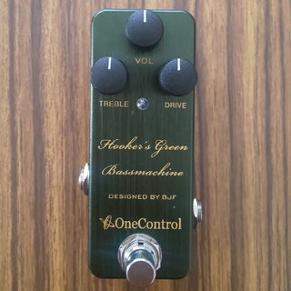 one control hooker's green bassmachine(ベースエフェクター)
