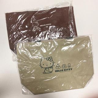 ハローキティ - ハローキティ ノベルティ お買い物袋 エコバッグ お弁当袋 ランチバッグ