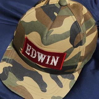 エドウィン(EDWIN)のキッズ ベビー 帽子  48cm (帽子)