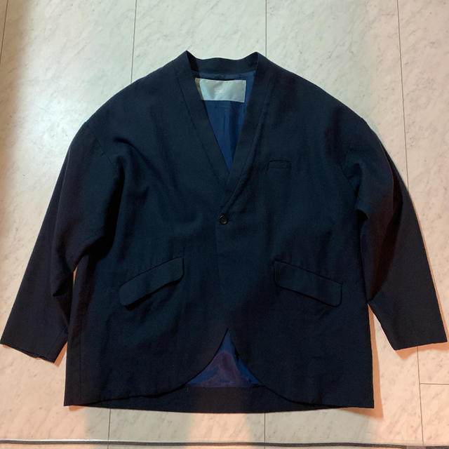 Dulcamara(ドゥルカマラ)のdulcamara よそいき フェイクカラージャケット メンズのジャケット/アウター(ノーカラージャケット)の商品写真