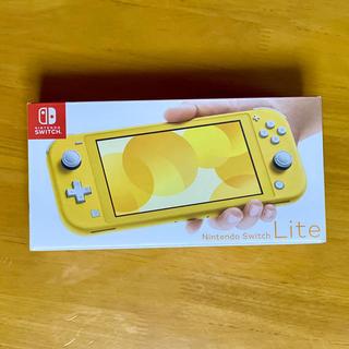 Nintendo Switch Lite イエロー 新品未使用(家庭用ゲーム機本体)