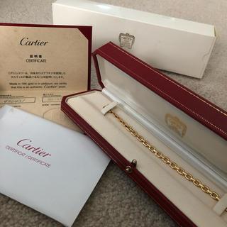 Cartier - カルティエ ゴールド ブレスレット  メプラット 18K YG メプラ 保証書