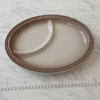 ルクルーゼ(LE CREUSET)のル・クルーゼ マルチオーバルプレート グレー(食器)