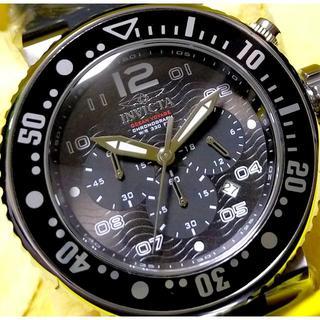 インビクタ(INVICTA)の定価11.4万円 インビクタ プロダイバー OCEAN VOYAGE ブラック(腕時計(アナログ))