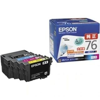 エプソン(EPSON)のビジネスインクジェット用 大容量インク/4色パック IC4CL76(OA機器)
