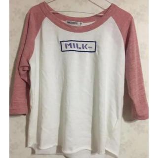 ミルクフェド(MILKFED.)のミルクフェド  七分Tシャツ(Tシャツ(長袖/七分))
