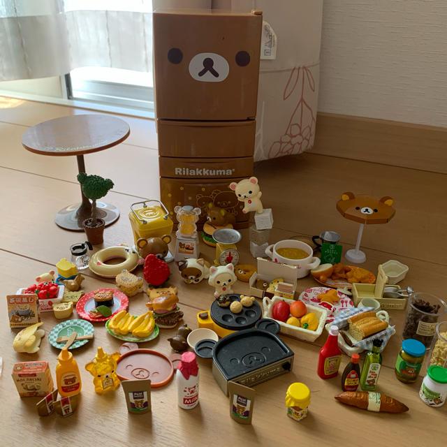 リラックマ フィギア エンタメ/ホビーのおもちゃ/ぬいぐるみ(キャラクターグッズ)の商品写真