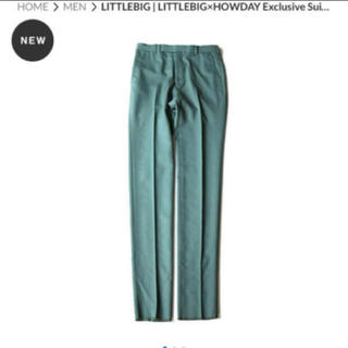 JOHN LAWRENCE SULLIVAN - LITTLEBIG×HOWDAY Exclusive Suit Green