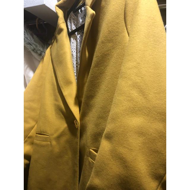 eimy istoire(エイミーイストワール)のeimy istoire カラーチェスターコート 新品 レディースのジャケット/アウター(チェスターコート)の商品写真