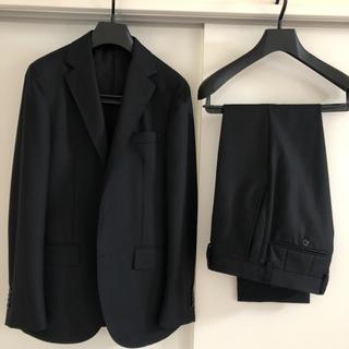 UNITED ARROWS - 【美品】<UNITED ARROWS> ブラック ストライプスーツ