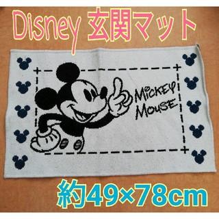 ディズニー(Disney)のDisney ディズニー ミッキー 玄関マット(玄関マット)