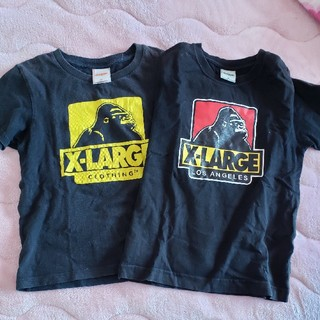 XLARGE - X-LARGE KIDSTシャツセット