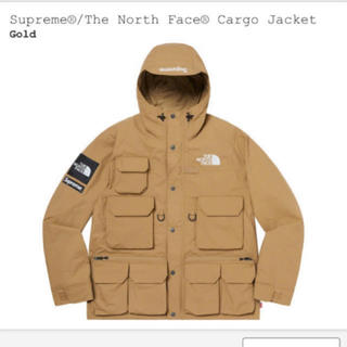 Supreme - supreme north face jacket gold M