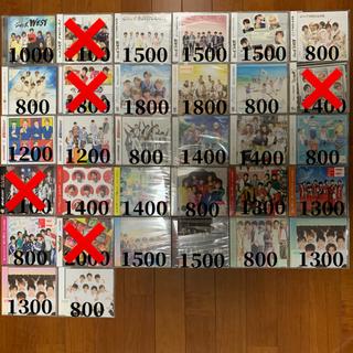 ジャニーズWEST - ジャニーズWEST CD・DVD